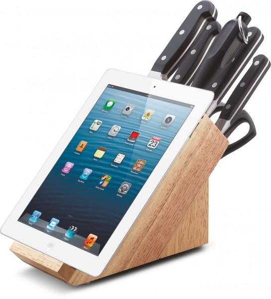 PREMIUM Messerblock Tablet 8-tlg.