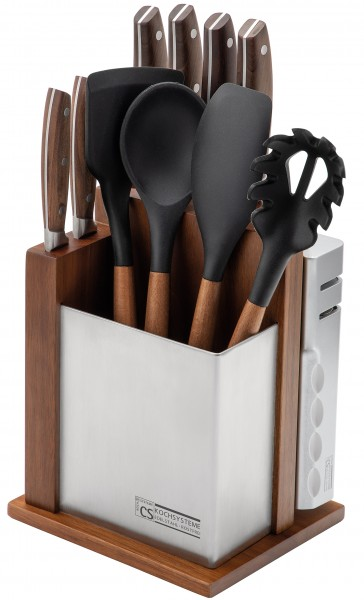 SOLTAU Messerblock mit Küchenhalterung 12-tlg.