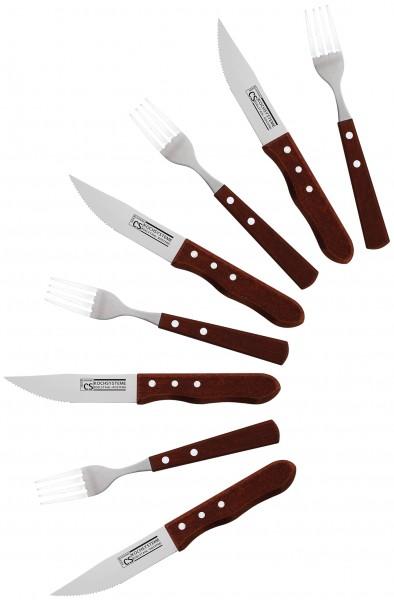 BRÜHL Jumbo Steakbesteckset 8-tlg.